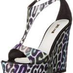 Just Cavalli Women's Strappy Wedge Sandal