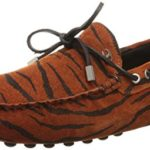 Just Cavalli Men's Haircalf Driver Slip-On Loafer