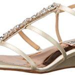 Badgley Mischka Women's Carley Wedge Sandal