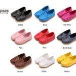 LONSOEN Toddler/Little Kid Boys Girls Soft Split Leather Loafer Slip-On Boat-Dress Shoes/Sneakers