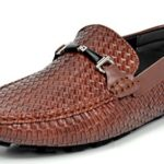 Bruno MARC MODA ITALY HUGH-02 Men's Weaved Casual Driving Loafers Slip On Moc toe Moccasins Shoes