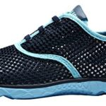 CAIHEE Women's Mesh Lightweight Quick-dry Aqua Slip On Water Shoes