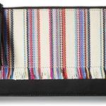 LOEFFLER RANDALL Flat Pouch (Woven Textile/Nappa Tassel)