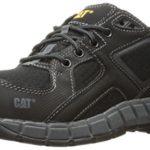 Caterpillar Men's Gain Steel Toe / Black Work Shoe