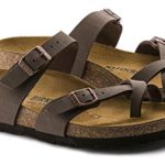 Mayari (Women's) Cork-Footbed Flat Sandals in Mocha Brown [New Style]