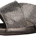 Kenneth Cole REACTION Women's Slim Jam Slip X-Band Straps Mini Jewels Flat Sandal
