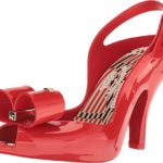 Vivienne Westwood Women's Anglomania + Melissa Lady Dragon Red Sandal
