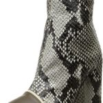 Just Cavalli Womens Python Printed High Heel Ankle Bootie
