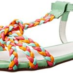 Love Moschino Women's Twist Braided Flat Dress Sandal