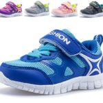 DADAWEN Boy's Girl's Toddler's Lightweight Breathable Strap Sneakers Casual Running Shoes Multiple Colors