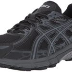 ASICS Men's Gel-Venture 6 Running-Shoes, Black/Phantom/Mid Grey, 10.5 4E US