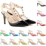 Loslandifen Ladies High Heels Party Wedding Count Pump Shoes