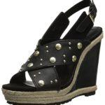 Rebecca Minkoff Women's Kimiko Stud Wedge Sandal