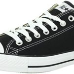 Converse Unisex Chuck Taylor All Star Low Top Black Sneakers – US Men 3.5 / US Women 5.5