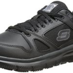 Skechers for Work Men's Flex Advantage Slip Resistant Oxford Sneaker