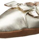 Robeez Maggie Moccasin Crib Shoe (Infant), Gold, 6-12 Months M US Infant