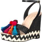 kate spade new york Women's Delancey Wedge Sandal