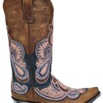 Old Gringo Women's L2833-2 Blue Oryx Bell Embroidered Western Boots