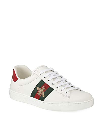 f1c493e003d Luxury-Gucci Ace Embroidered Sneakers (35-45 Sizes) Unisex Casual Classic  Fashion Shoes White
